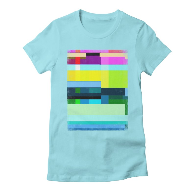 Discharge Women's Fitted T-Shirt by bulo