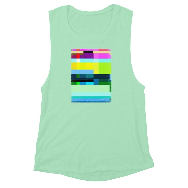 Discharge Women's Muscle Tank by bulo