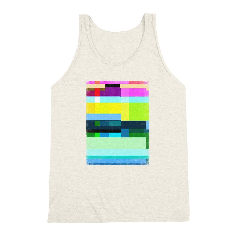 Discharge Men's Triblend Tank by bulo