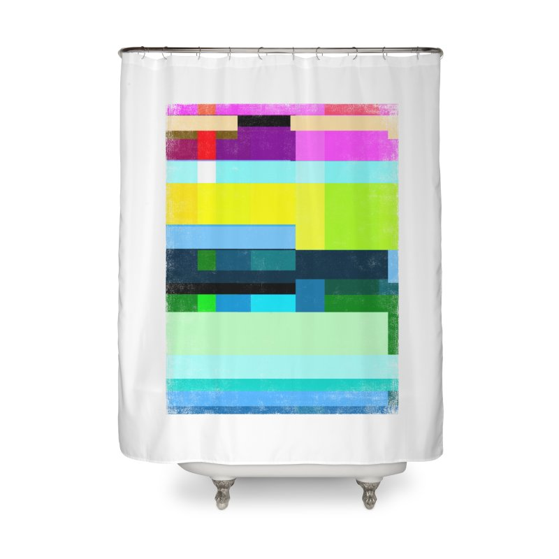 Discharge Home Shower Curtain by bulo