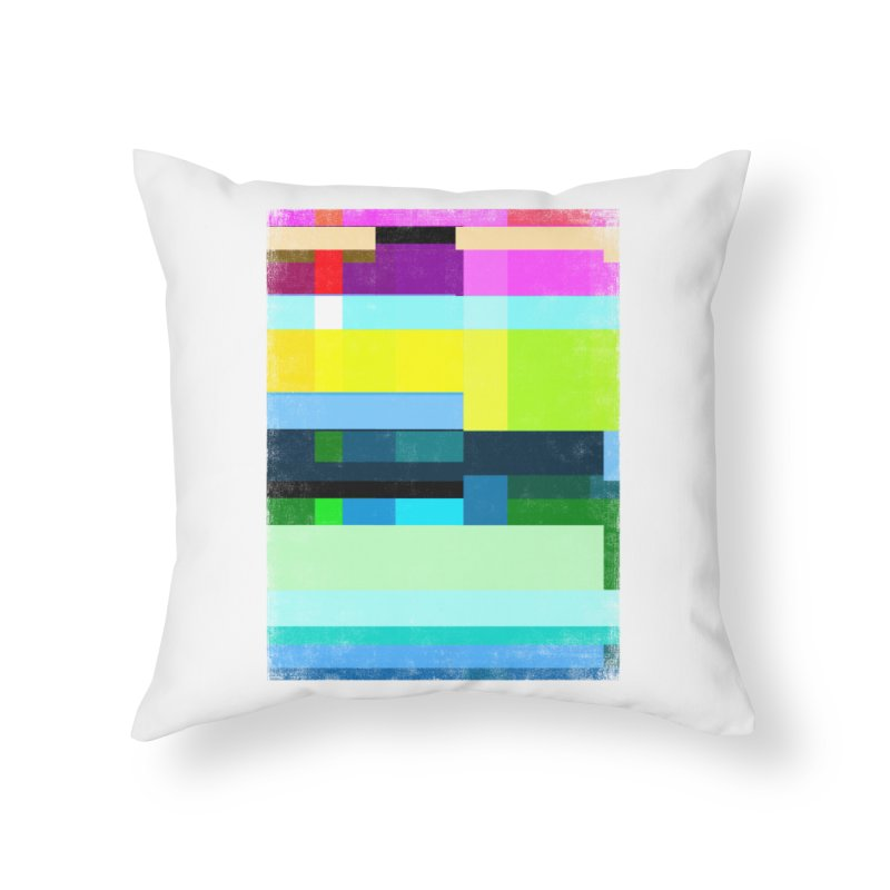 Discharge Home Throw Pillow by bulo