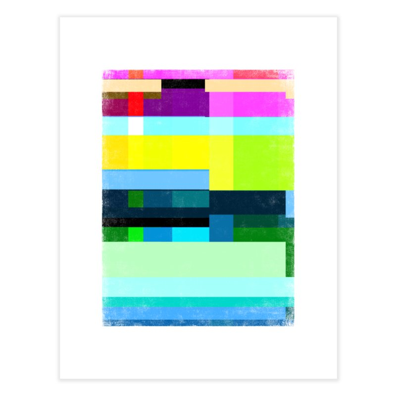 Discharge Home Fine Art Print by bulo