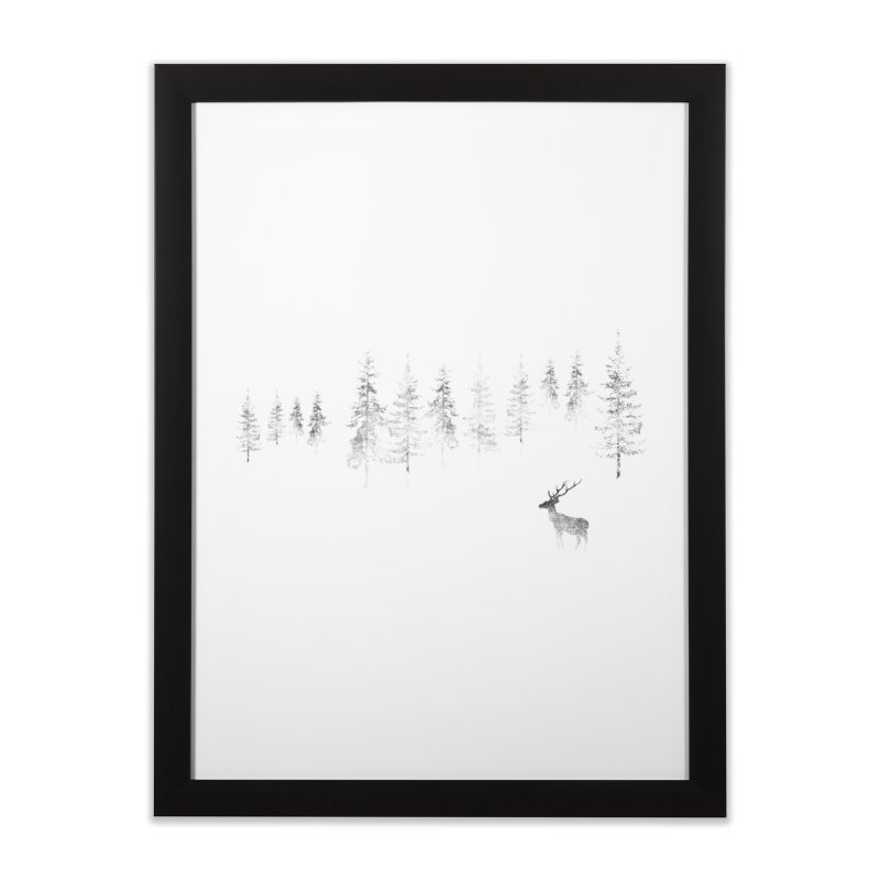Misty Home Framed Fine Art Print by bulo