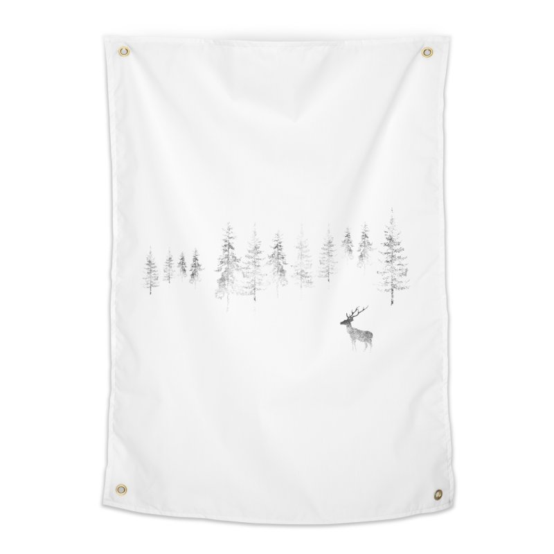 Misty Home Tapestry by bulo