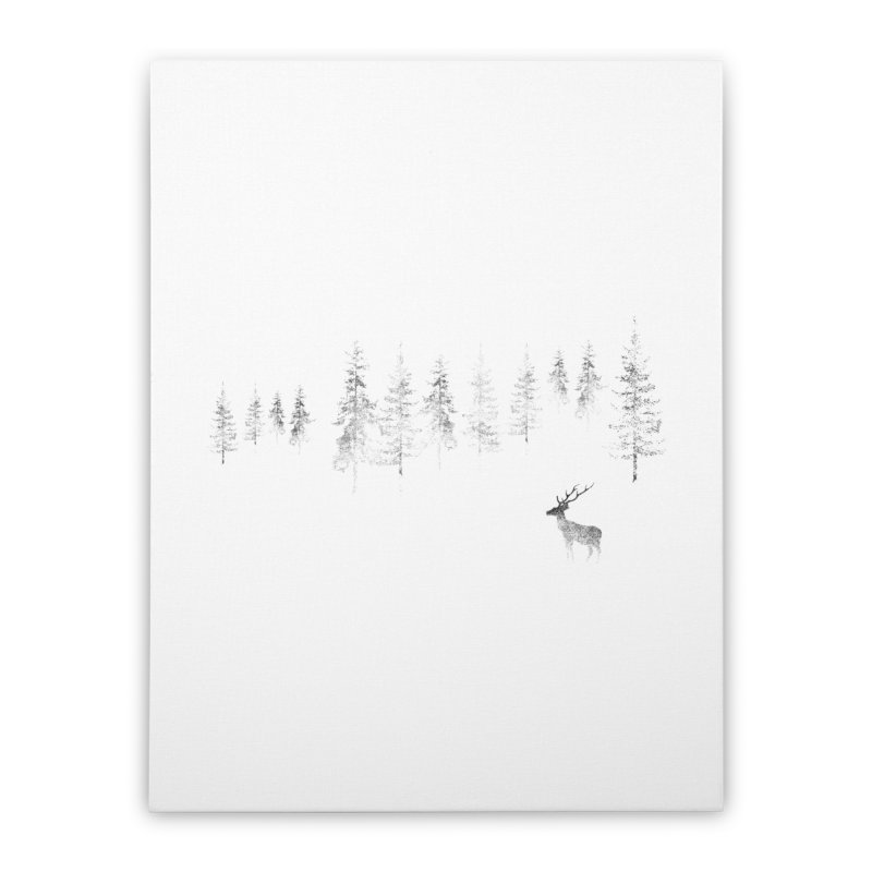 Misty Home Stretched Canvas by bulo