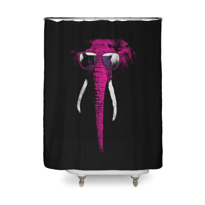 Party Elephant Home Shower Curtain by bulo