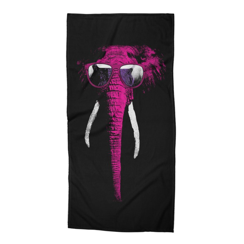 Party Elephant Accessories Beach Towel by bulo