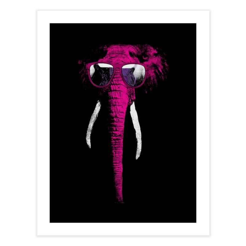 Party Elephant Home Fine Art Print by bulo