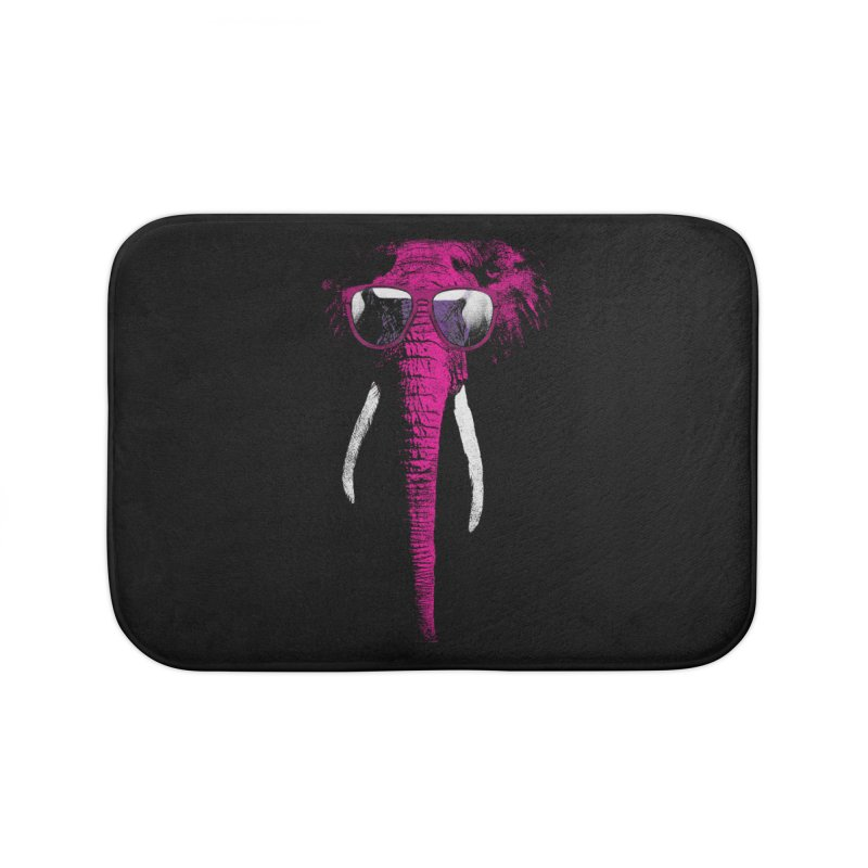 Party Elephant Home Bath Mat by bulo