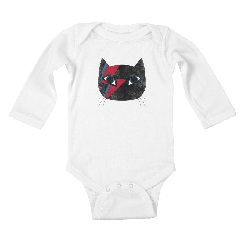 Starcat Kids Baby Longsleeve Bodysuit by bulo