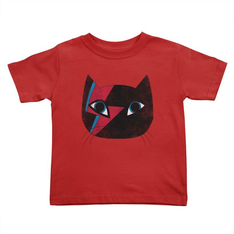 Starcat Kids Toddler T-Shirt by bulo