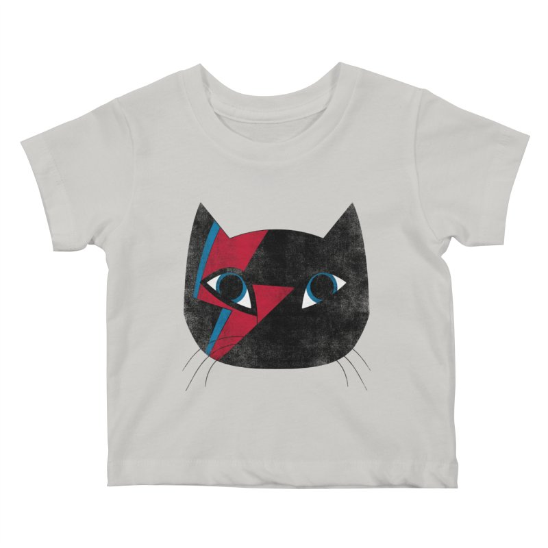 Starcat Kids Baby T-Shirt by bulo