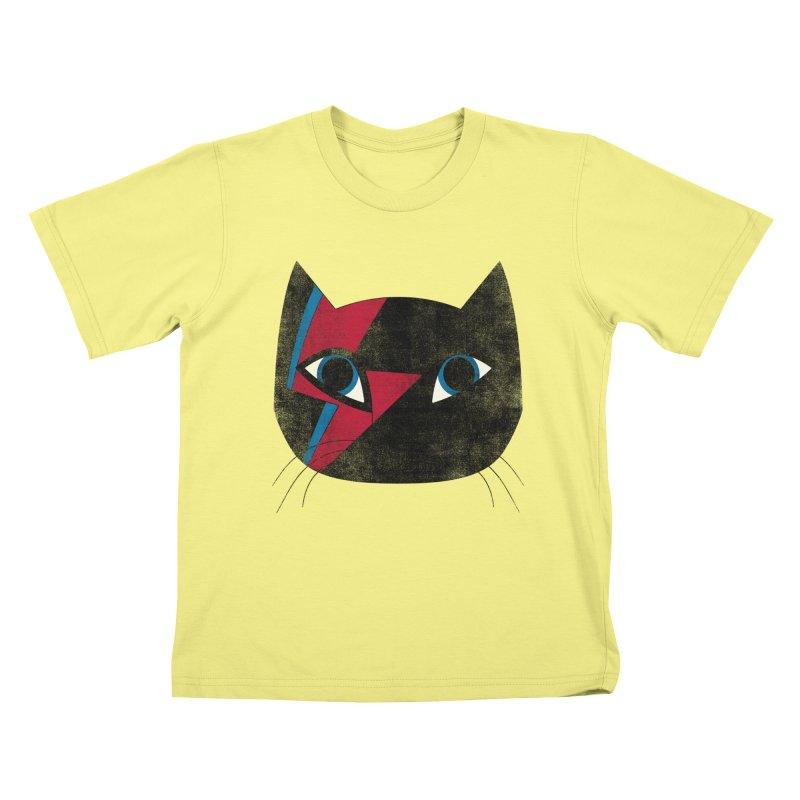 Starcat Kids T-shirt by bulo