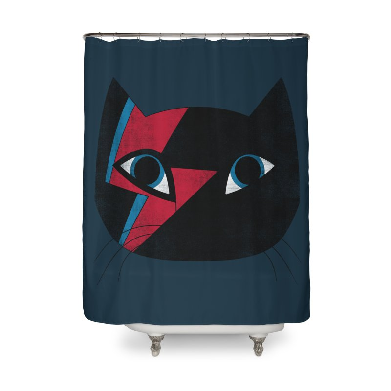 Starcat Home Shower Curtain by bulo