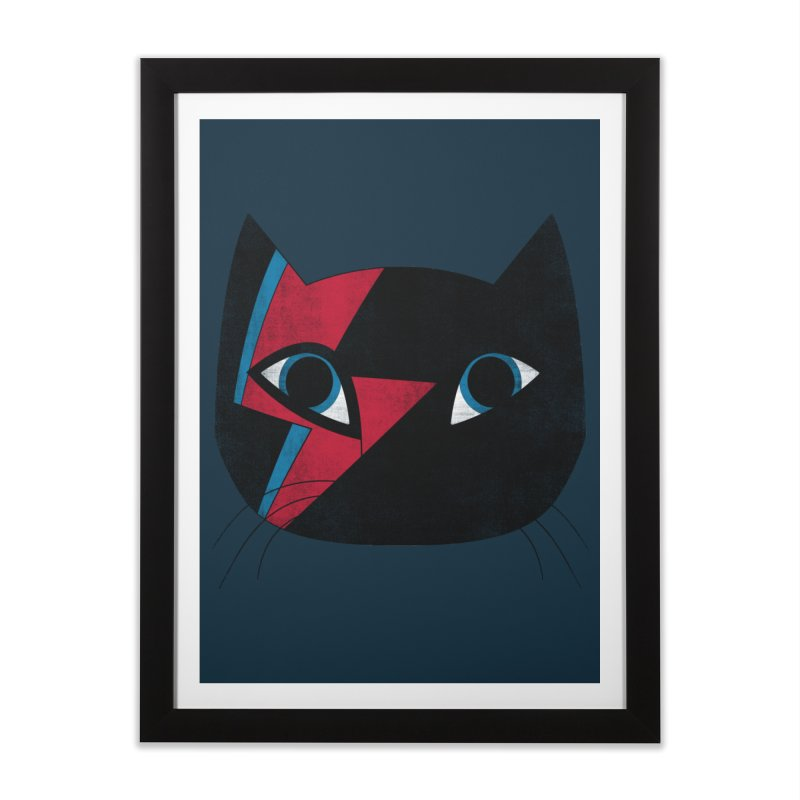 Starcat Home Framed Fine Art Print by bulo