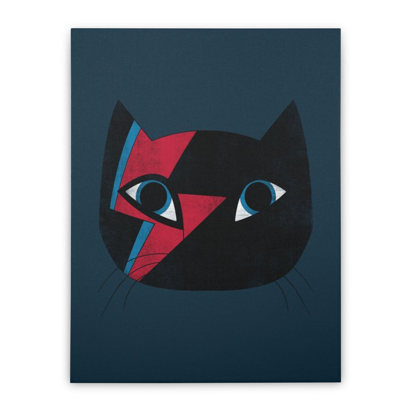 Starcat Home Stretched Canvas by bulo