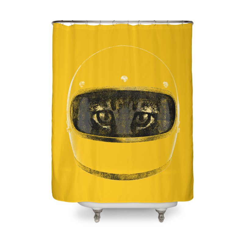 Racer Home Shower Curtain by bulo