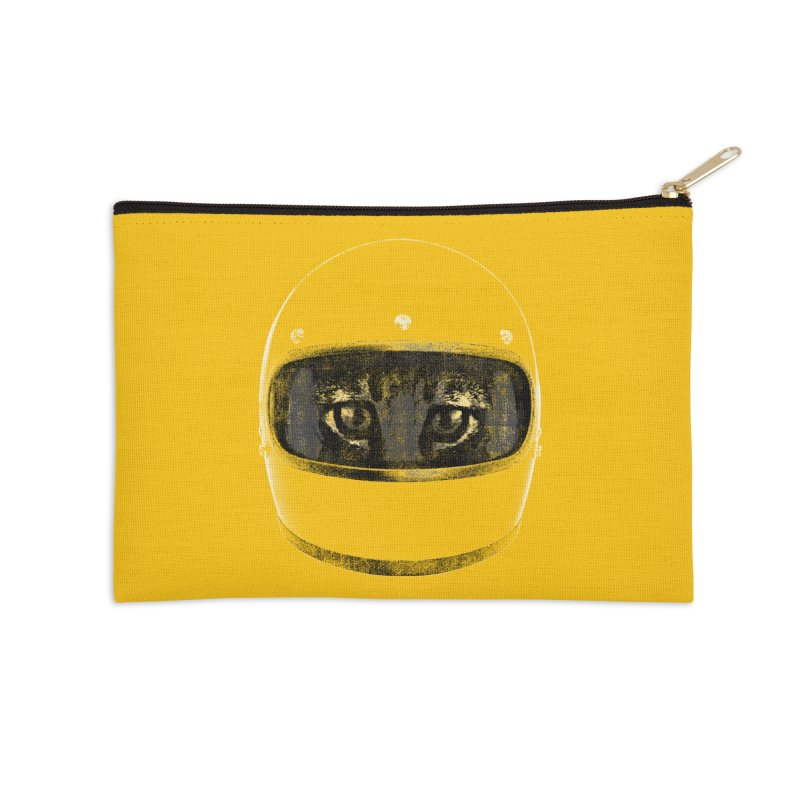 Racer Accessories Zip Pouch by bulo