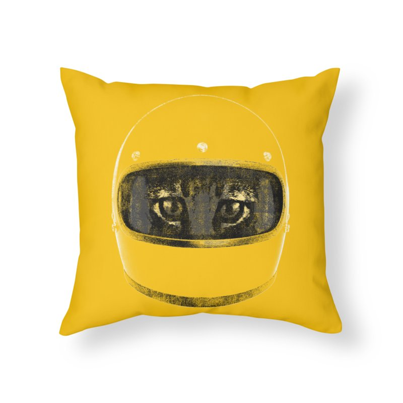 Racer Home Throw Pillow by bulo
