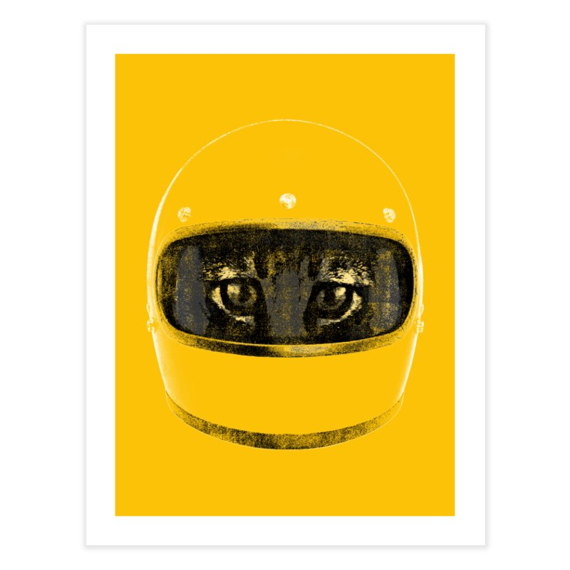 Racer Home Fine Art Print by bulo