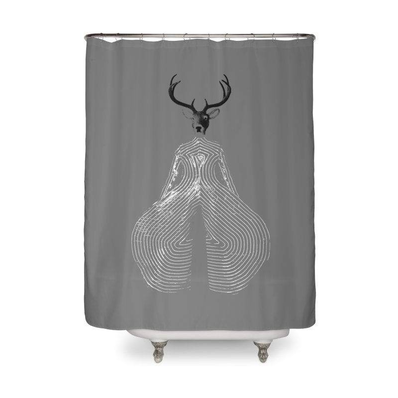 Deerbowie Home Shower Curtain by bulo