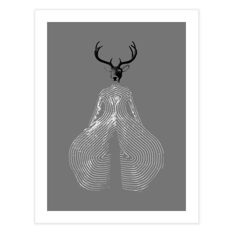 Deerbowie Home Fine Art Print by bulo