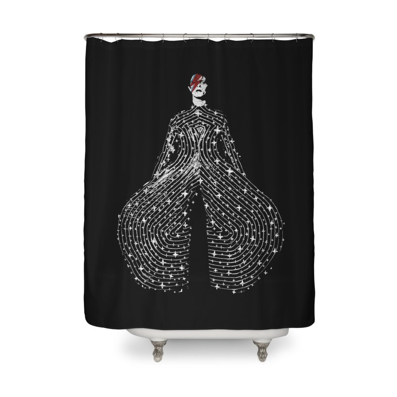 Starman Home Shower Curtain by bulo