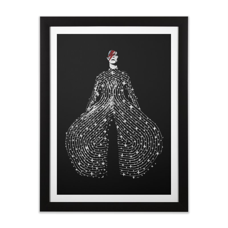 Starman Home Framed Fine Art Print by bulo