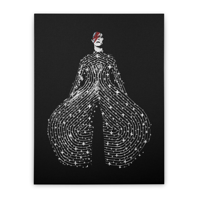 Starman Home Stretched Canvas by bulo