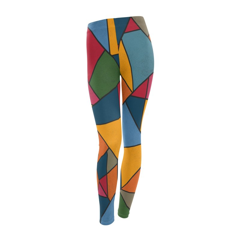 Asymmetric balance Women's Leggings Bottoms by bulo