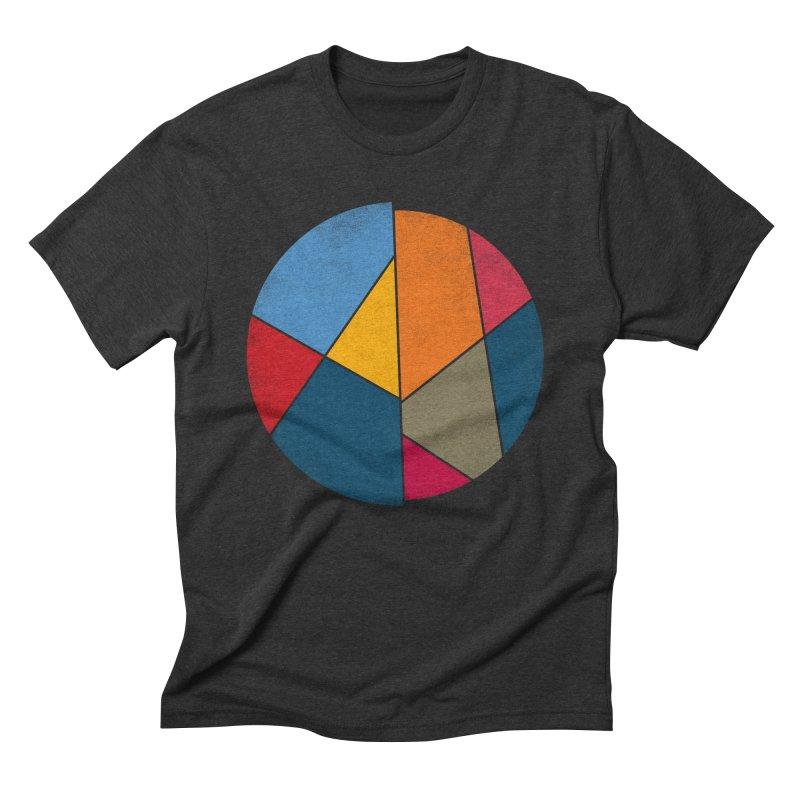 Asymmetric balance Men's Triblend T-shirt by bulo