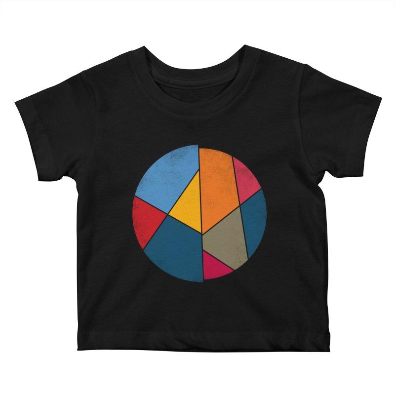 Asymmetric balance Kids Baby T-Shirt by bulo