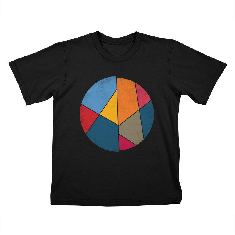 Asymmetric balance Kids T-shirt by bulo