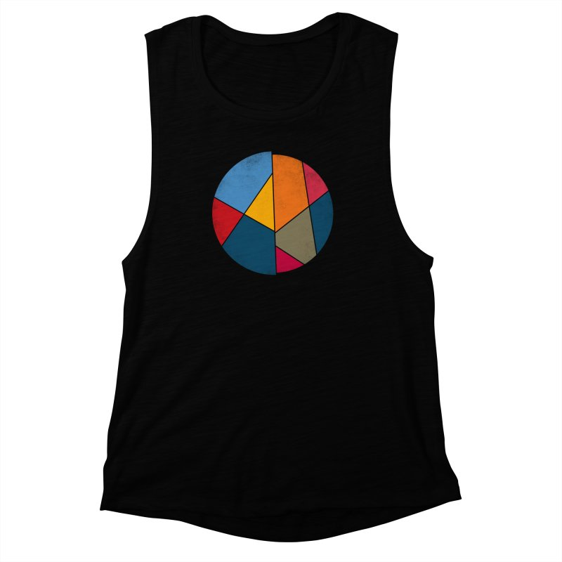 Asymmetric balance Women's Muscle Tank by bulo