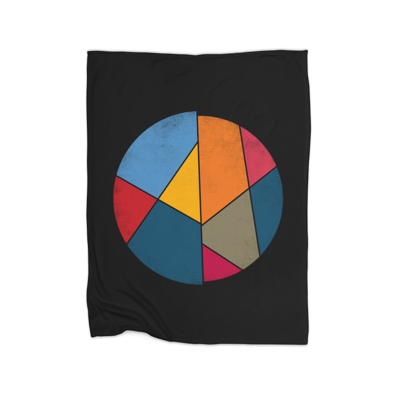 Asymmetric balance Home Fleece Blanket by bulo