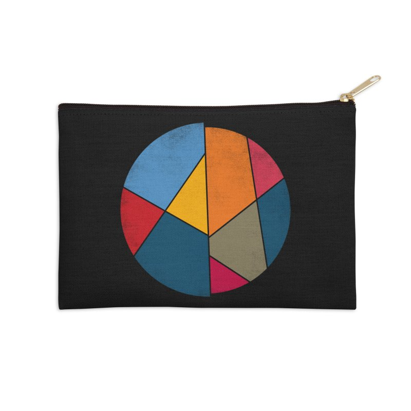 Asymmetric balance Accessories Zip Pouch by bulo