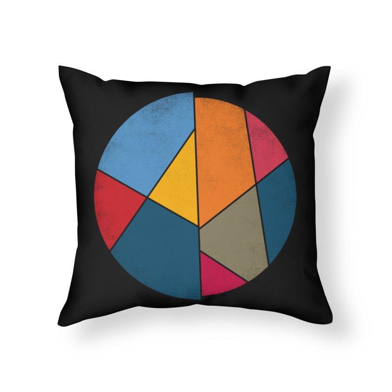 Asymmetric balance Home Throw Pillow by bulo