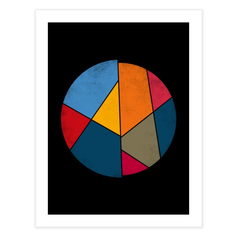 Asymmetric balance Home Fine Art Print by bulo