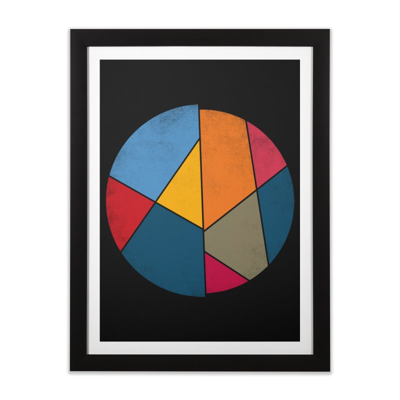 Asymmetric balance Home Framed Fine Art Print by bulo