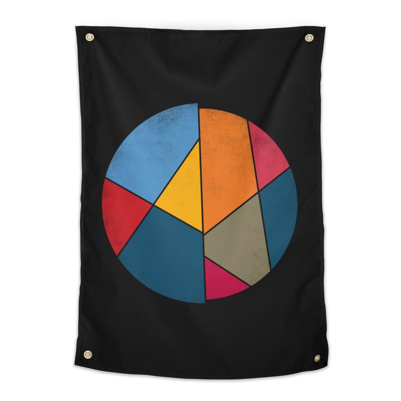 Asymmetric balance Home Tapestry by bulo