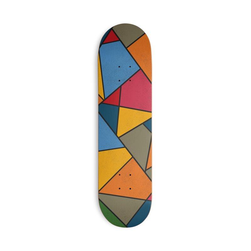 Asymmetric balance in Deck Only Skateboard by bulo