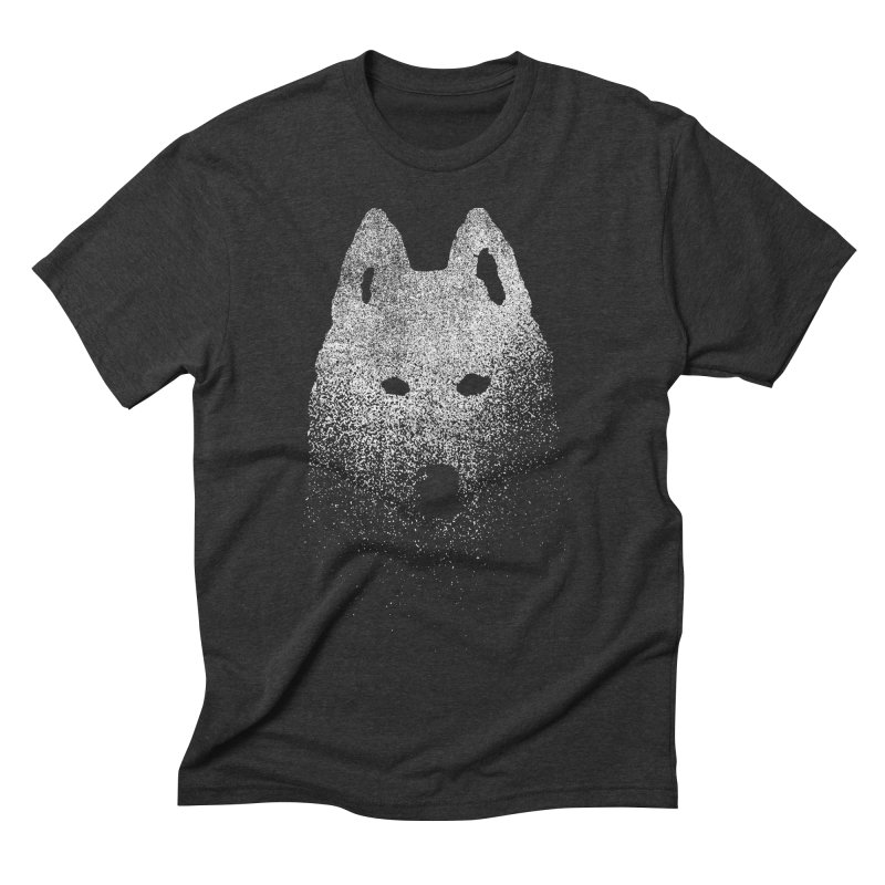 Pure in Men's Triblend T-shirt Heather Onyx by bulo