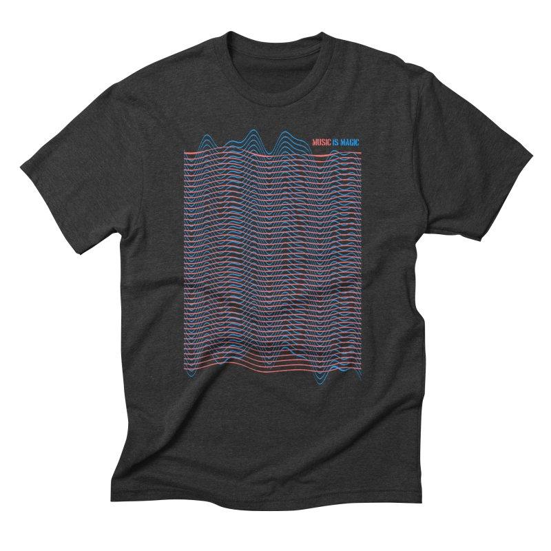 Mix Men's Triblend T-shirt by bulo