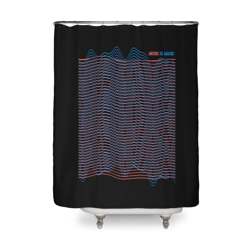 Mix Home Shower Curtain by bulo