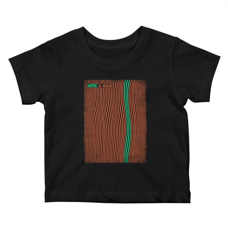 Music Kids Baby T-Shirt by bulo