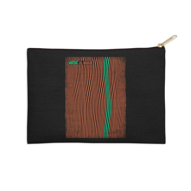 Music Accessories Zip Pouch by bulo