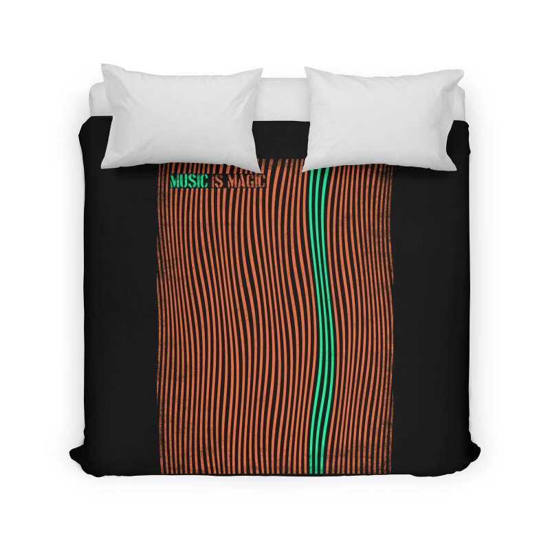 Music Home Duvet by bulo