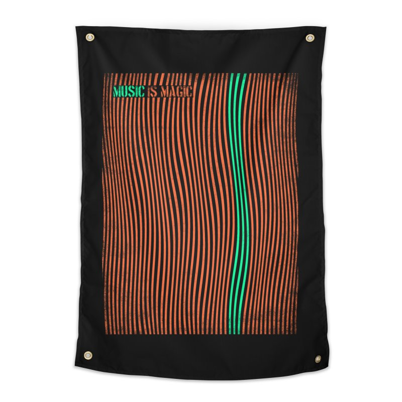 Music Home Tapestry by bulo