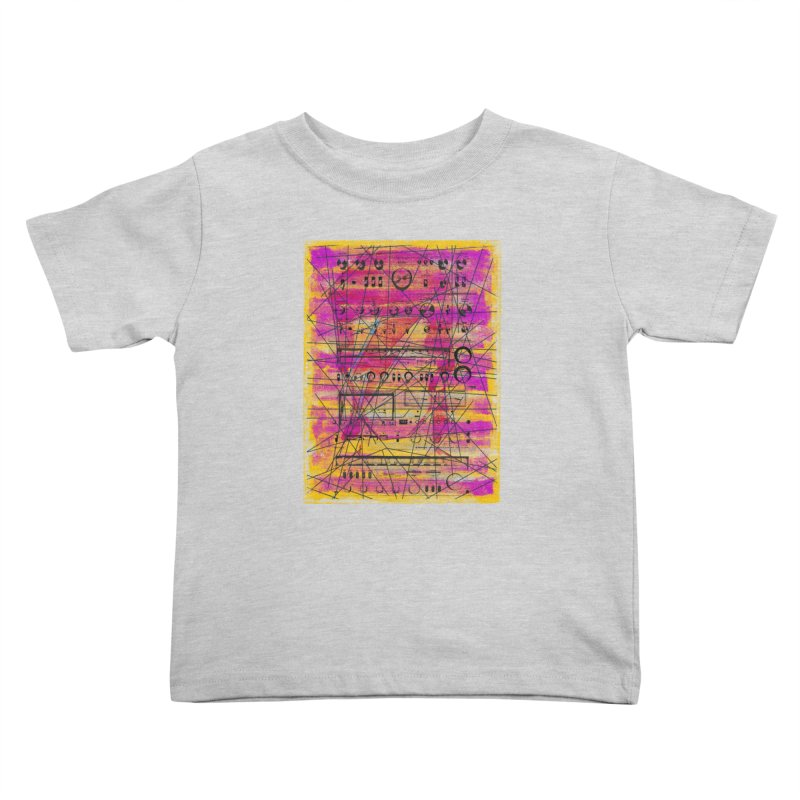 Hifidelity Kids Toddler T-Shirt by bulo