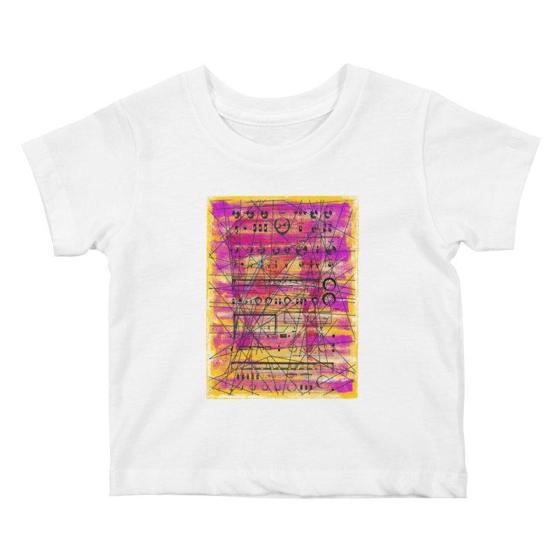 Hifidelity Kids Baby T-Shirt by bulo